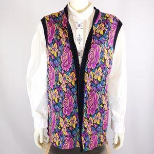 Retro Flower Vest